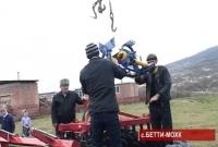 Программа Красного Креста реализуется в горном селе Бетти-Мохк