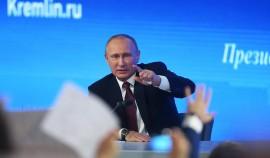 В Кремле готовятся к большой пресс-конференции Владимира Путина