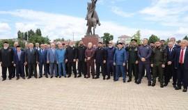 В Грозном прошло мероприятие, приуроченное ко Дню России