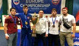 Чеченские спортсмены стали призерами на чемпионате Европы по тхэквондо ГТФ в Казани
