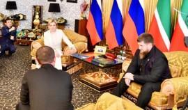 Рамзан Кадыров встретился с министром культуры РФ Ольгой Любимовой
