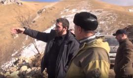 Магомед Даудов побывал с инспекцией в Галанчожском районе
