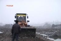 В Республике продолжается реконструкция «Грозненского моря»
