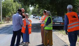 Общественные контролеры проверили объекты нацпроекта в Висаитовском районе Грозного