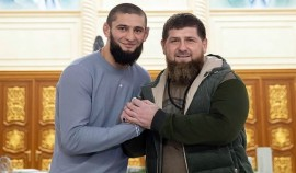 Рамзан Кадыров провел спарринг с Хамзатом Чимаевым