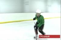 Чествование хоккейной команды юниоров Грозного