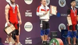 Чеченский спортсмен завоевал серебряную награду на Чемпионате России по тяжелой атлетике