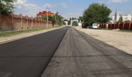 В Грозном завершается ремонт улицы Джамбула