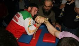 В Грозном пройдёт турнир по армрестлингу