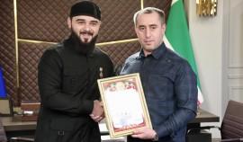 Хамзату Кадырову присвоено звание «Почетный гражданин города Грозный»