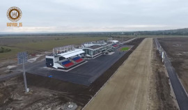 Строительство ипподрома на границе с Аргунским городским округом почти завершено