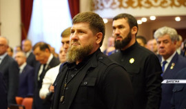 Рамзан Кадыров посетил церемонию вступления в должность Главы Дагестана