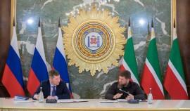 Рамзан Кадыров поздравил министра экономического развития РФ с днем рождения
