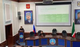 В Грозном презентовали молодежную модель правительства