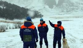 Спасатели МЧС провели тренировки в горах Чеченской Республики