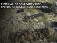В Ингушетии ликвидирована группа из восьми боевиков ИГИЛ