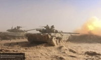 Сирийские военные отразили нападение боевиков в пригороде Латакии