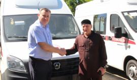 Фонд им. А.-Х. Кадырова подарил две машины скорой помощи Минздраву Абхазии