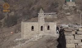 В селении Зумсой восстановили старинную мечеть