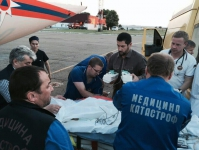 Спецборт МЧС России с двумя пациентами из Чечни на борту вылетел в Нижний Новгород