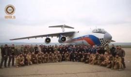 Бойцы Росгвардии по ЧР, проходившие масштабные учения в Арктике, вернулись домой