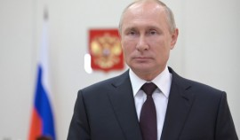 Владимир Путин поздравил жителей Чеченской Республики с Днем конституции