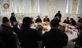 В доме Рамзана Кадырова богословы провели религиозный обряд