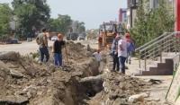 В Грозном обновляют подземные коммуникации по улицам Назарбаева и Индустриальная