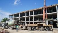 В Грозном продолжается строительство учебного корпуса к гимназии № 1 им. Ахмат–Хаджи Кадырова