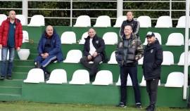 Тренерский штаб сборной России посетил тренировку «Ахмата» на сборах в Турции