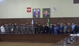 В Грозном наградили сотрудников информационного управления Главы и Правительства