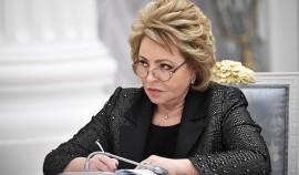 Глава ЧР поблагодарил Валентину Матвиенко за теплый отзыв об Ахмате-Хаджи Кадырове