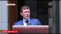 Р.Кадыров вместе с М.Топилиным приняли участие в открытии детского оздоровительного лагеря в Шелковском районе