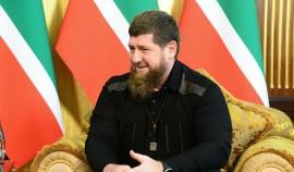 Рамзан Кадыров поздравил Идриса Черхигова с присвоением ему специального звания майора полиции