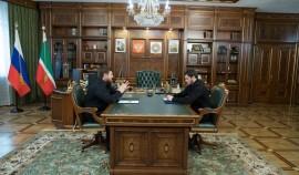 Рамзан Кадыров обсудил вопросы развития Грозного с новым мэром