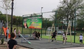 Жители села Побединское получили новую зону отдыха
