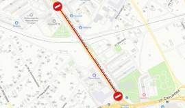 На проспекте имени А.А. Кадырова ограничено движение до 5 июля