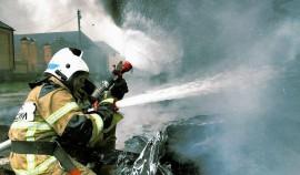В Чеченской Республике определили лучшего пожарного