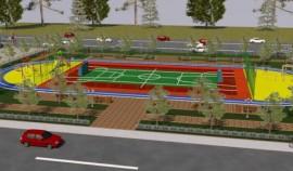 В рамках нацпроекта в Ачхой-Мартановском районе построят две спортивные площадки