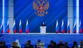 Опрос: 75% россиян считают, что поставленные в послании президента задачи будут выполнены