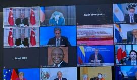 Руслан Эдельгериев принял участие в Саммите лидеров по вопросам климата