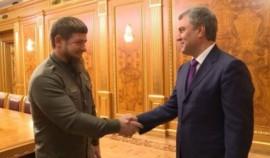 Рамзан Кадыров поздравил с днем рождения Вячеслава Володина