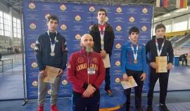 Спортсмены РБК «Ахмат» завоевали 13 медалей на первенстве СКФО по греко-римской борьбе