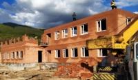 В Шатойском районе строится детский сад по нацпроекту «Жильё и городская среда»