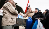 Российские военные доставили гуманитарную помощь жителям провинции Дераа