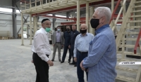 Муслим Хучиев проверил ход строительства технопарка «Казбек»