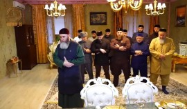 Рамзан Кадыров навестил потомка Шейха Баматгири-Хаджи Митаева - Муслима