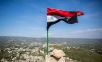 Государственный флаг Сирии подняли в центре Пальмиры