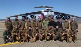 Сотрудники Росгвардии из Российского университета спецназа отправились на учения в Арктику