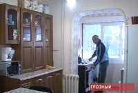 Некоторые дома остались без отоплении в Грозном